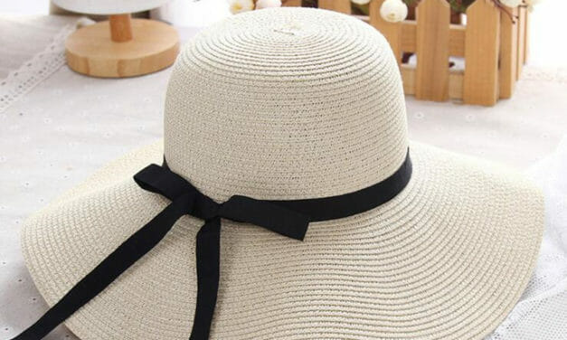 Sombrero de Paja con Ala Ancha