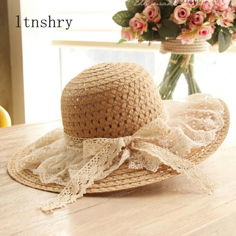 Sombrero con Encaje para el Sol