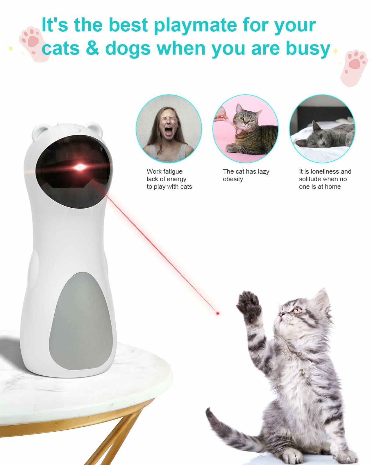 Juguete con Láser para Gatos
