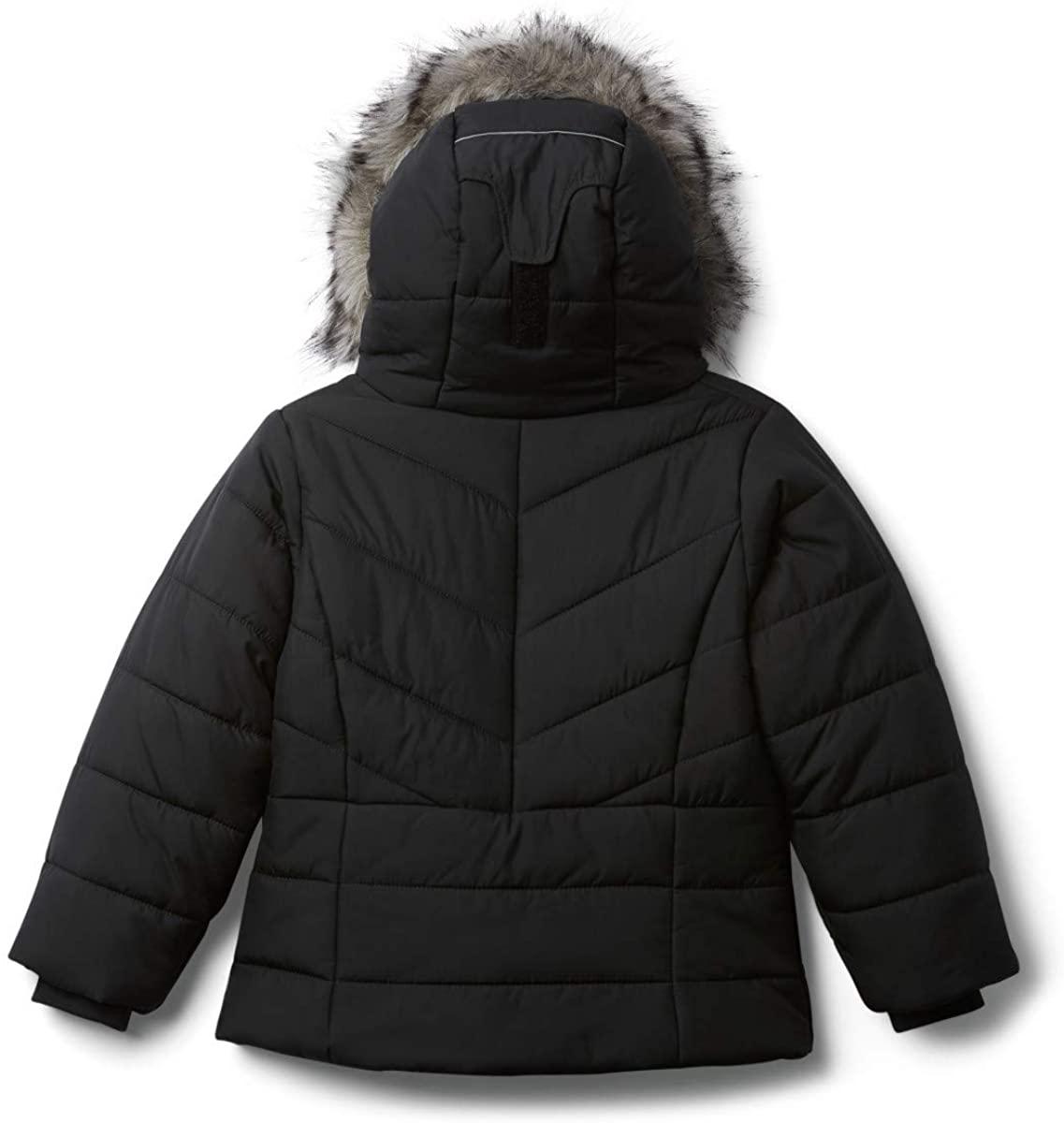 Columbia Abrigo Katelyn Crest Negro para Niñas