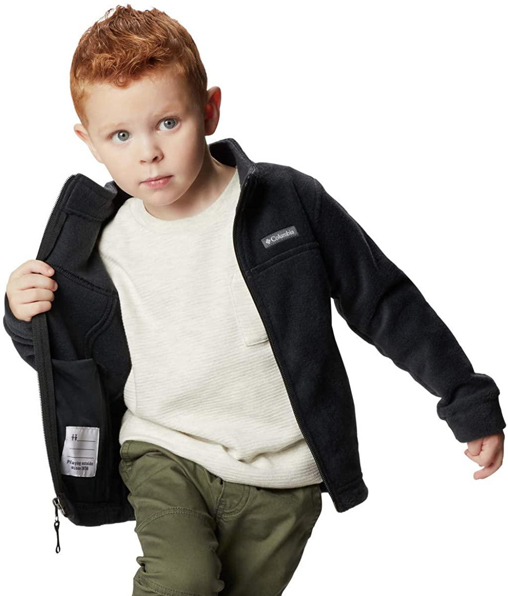 Columbia Chaqueta Fleece Negro para Niños