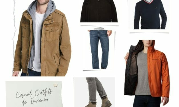 Casual Outfit Invierno Hombre