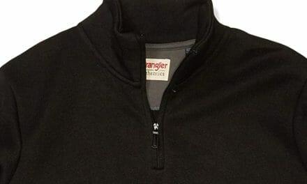 Wrangler Jersey Fleece Quarter-Zip Hombre
