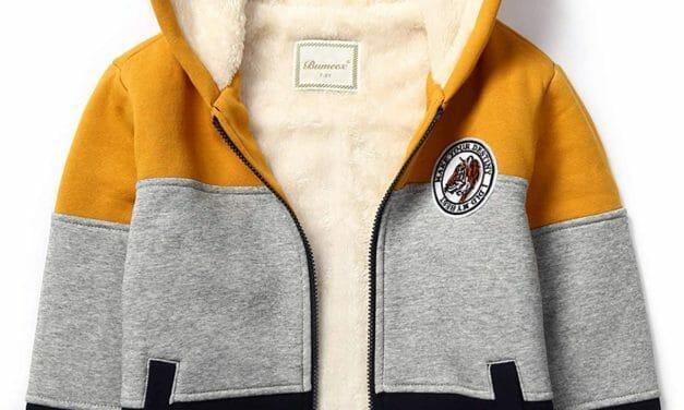 Chaqueta Sherpa Fleece para Niños