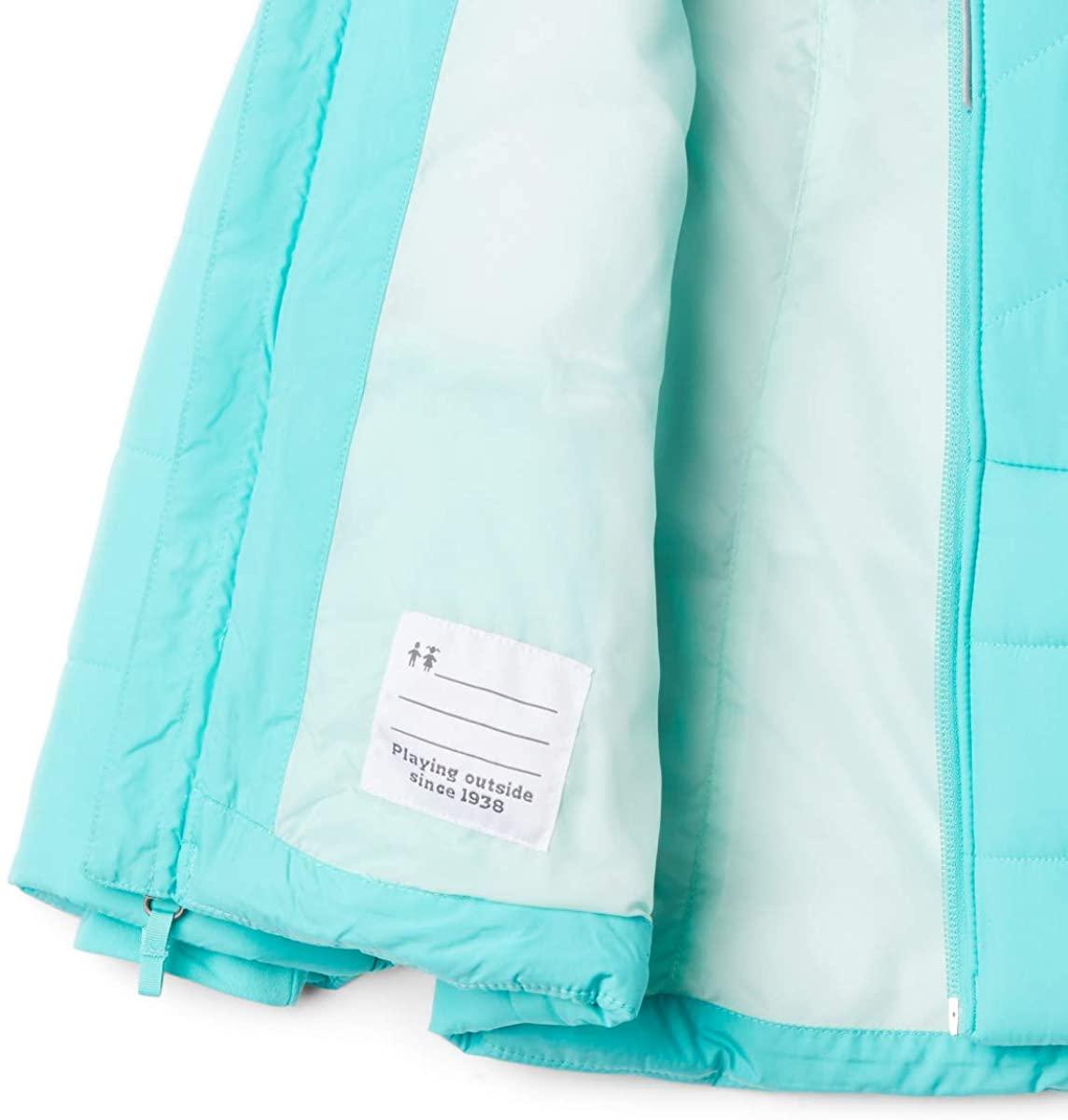 Columbia Abrigo Katelyn Crest Azul para Niñas