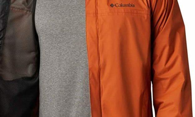 Columbia Chaqueta Waterproof Hombre