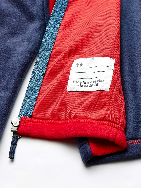 Columbia Chaqueta Fleece Rojo y Azul para Niños
