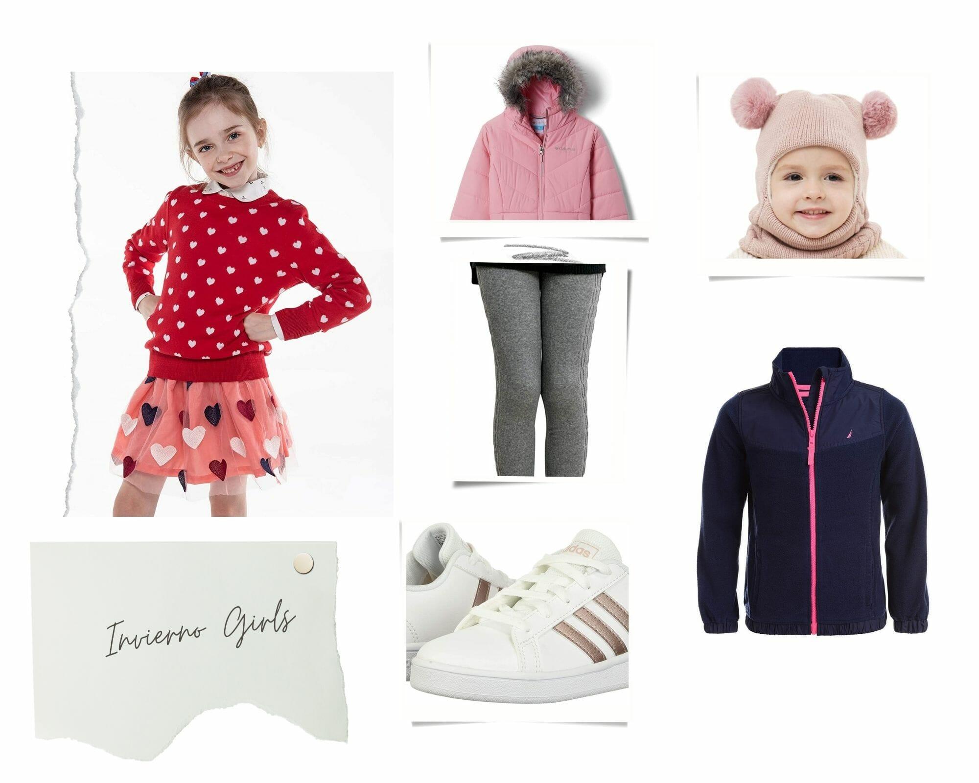 Outfits Invierno Niñas