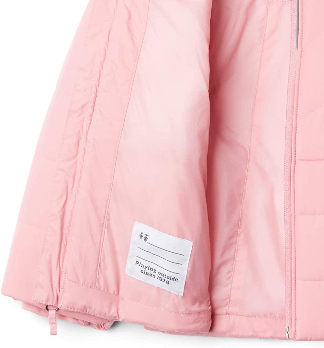Columbia Abrigo Katelyn Crest Pink para Niñas