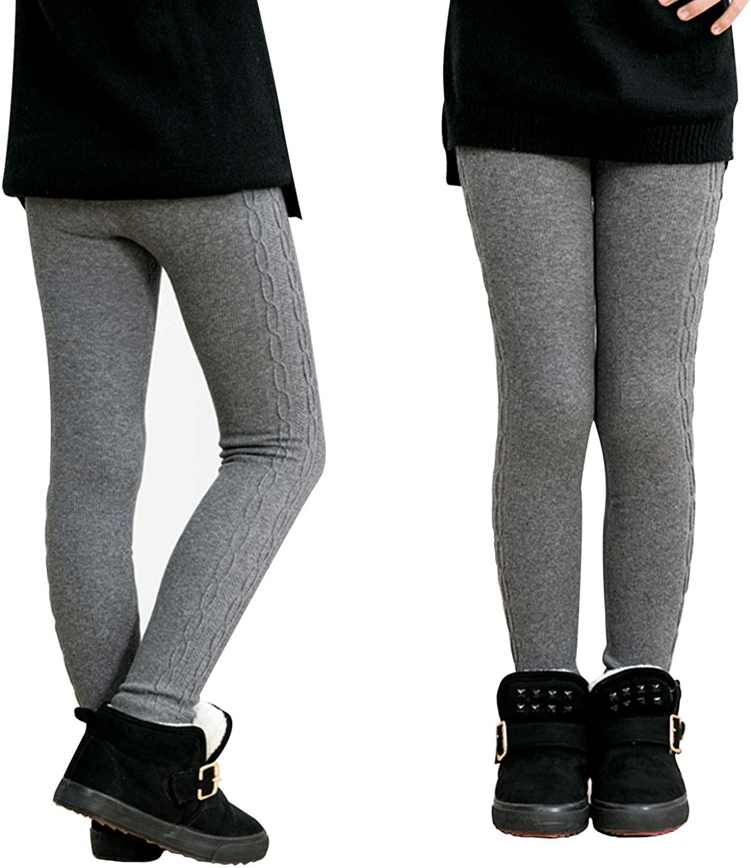 Leggings para Invierno Gris Niñas