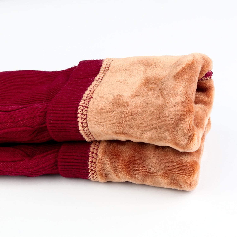 Leggings para Invierno Rojo Niñas
