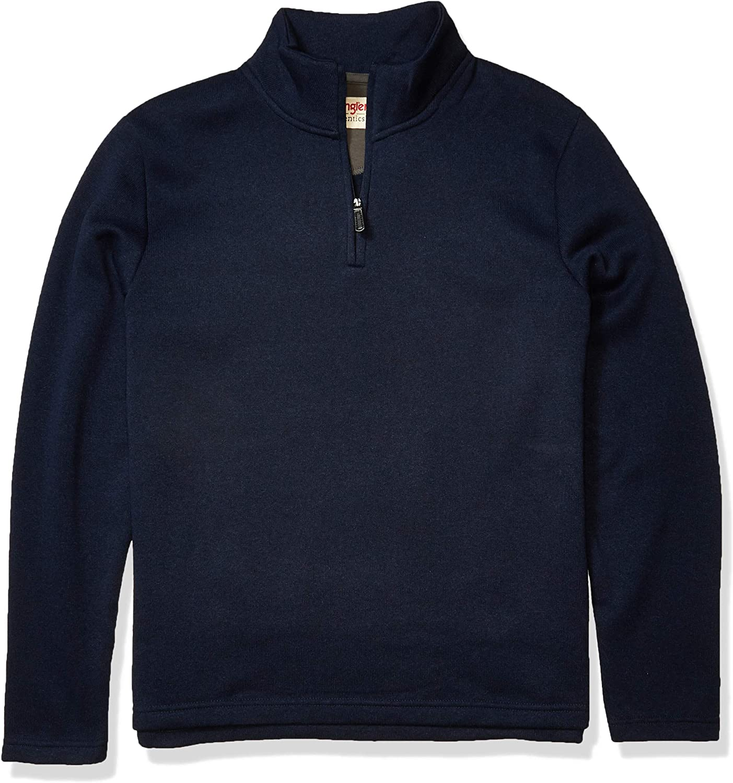 Wrangler Jersey Fleece Quarter-Zip Azul Hombre