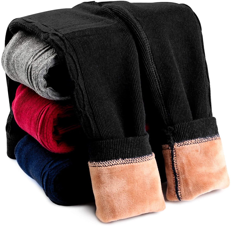 Leggings para Invierno Negro Niñas