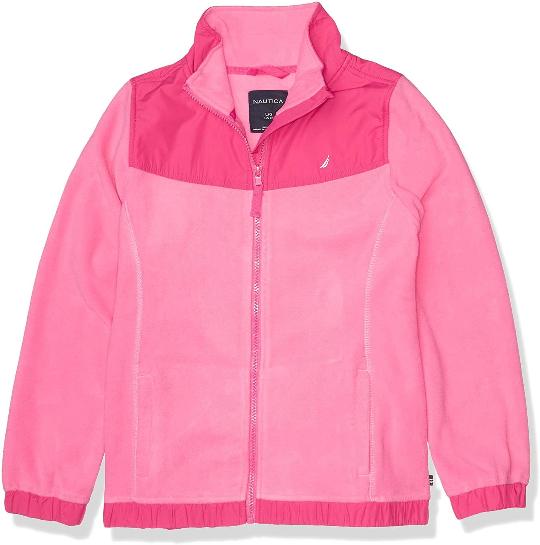 Nautica Chaqueta con Cierre Pink para Niñas