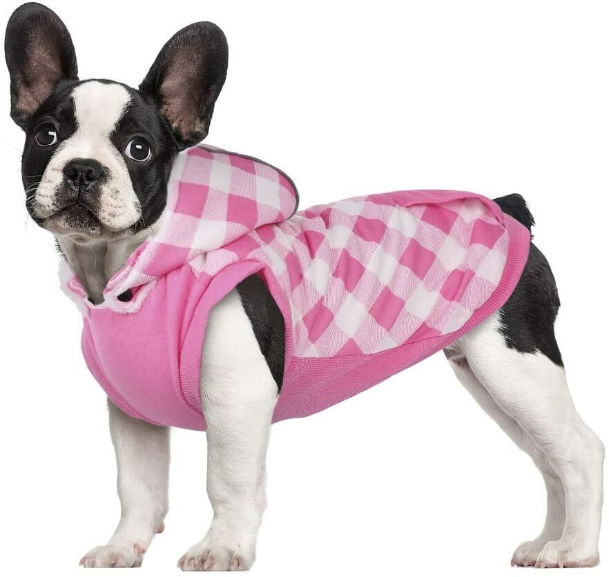 Chaqueta con Capucha Pink para Perros