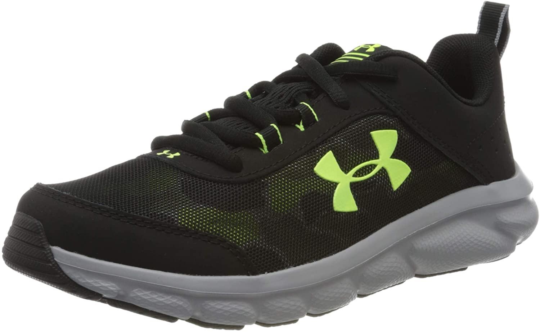 Under Armour Unisex-Child Sneaker Black para Niños