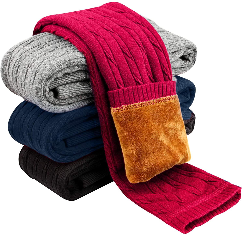 Leggings para Invierno Punto Rojo Niñas