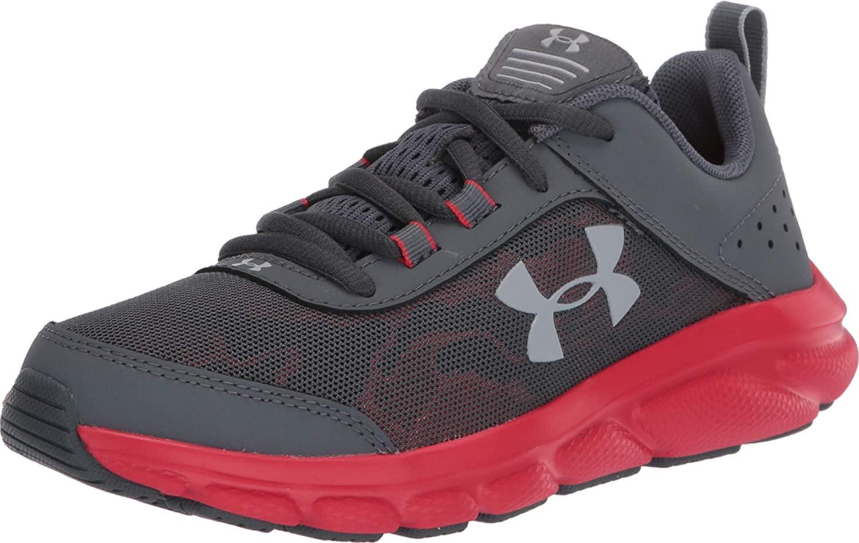 Under Armour Unisex-Child Sneaker Pitch Gray para Niños