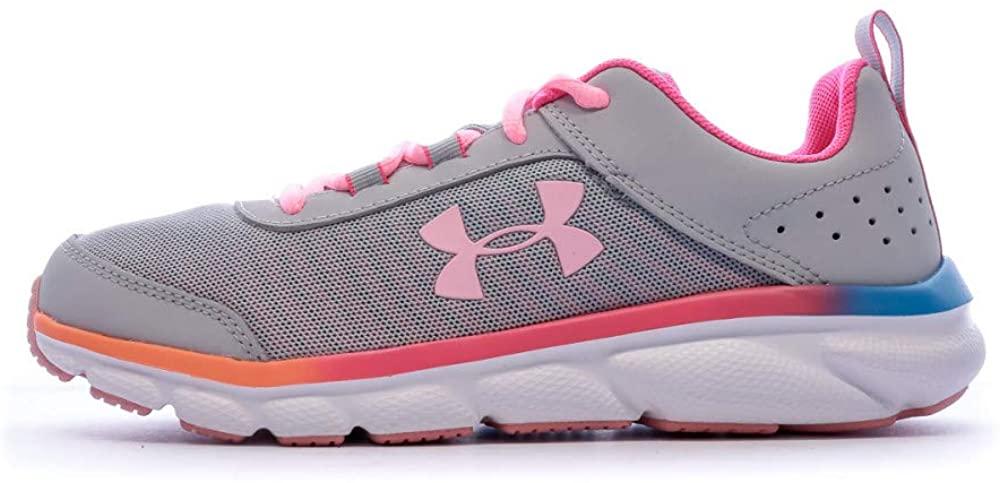 Under Armour Unisex-Child Sneaker Gris para Niños