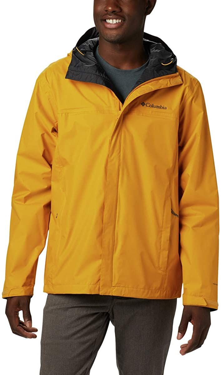 Columbia Chaqueta Waterproof Golden Yellow Hombre