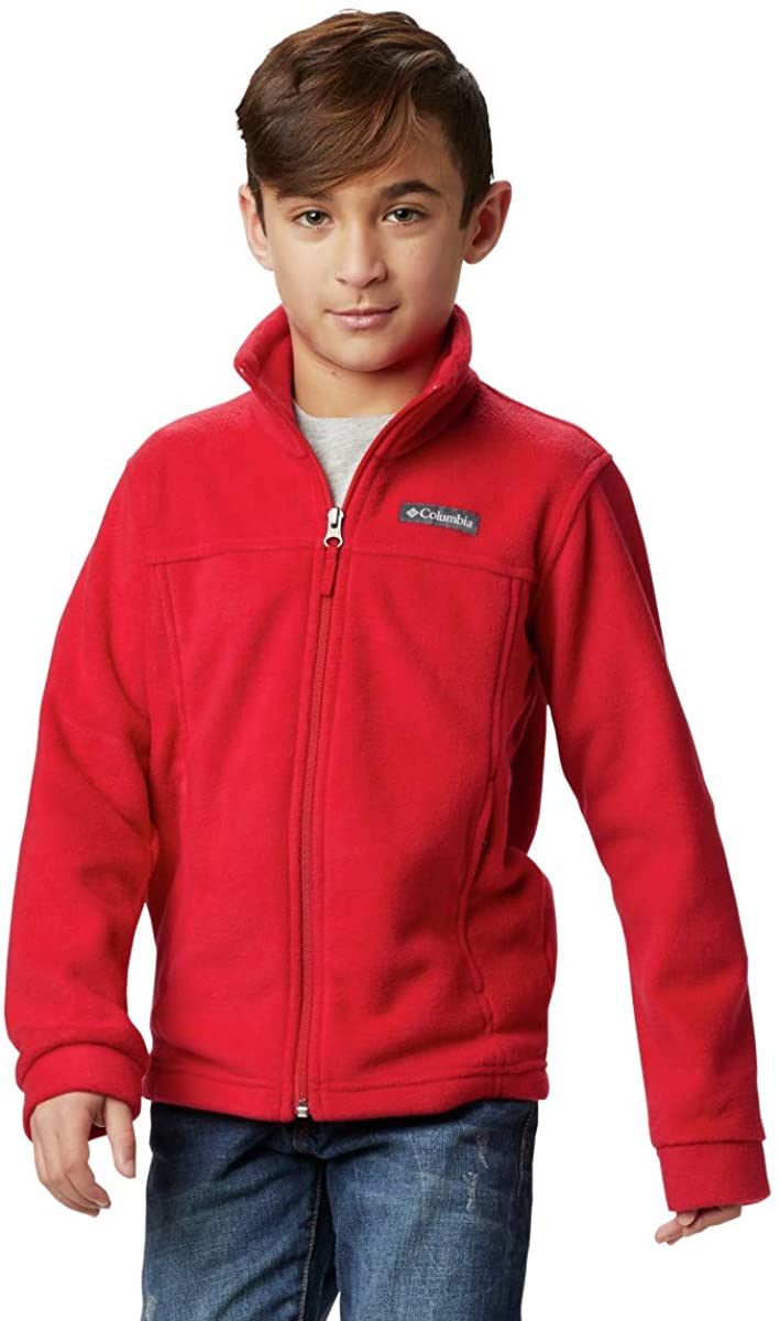 Columbia Chaqueta Fleece Rojo para Niños
