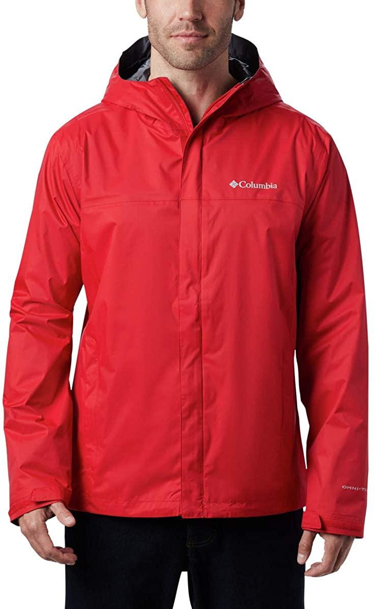 Columbia Chaqueta Waterproof Roja Hombre
