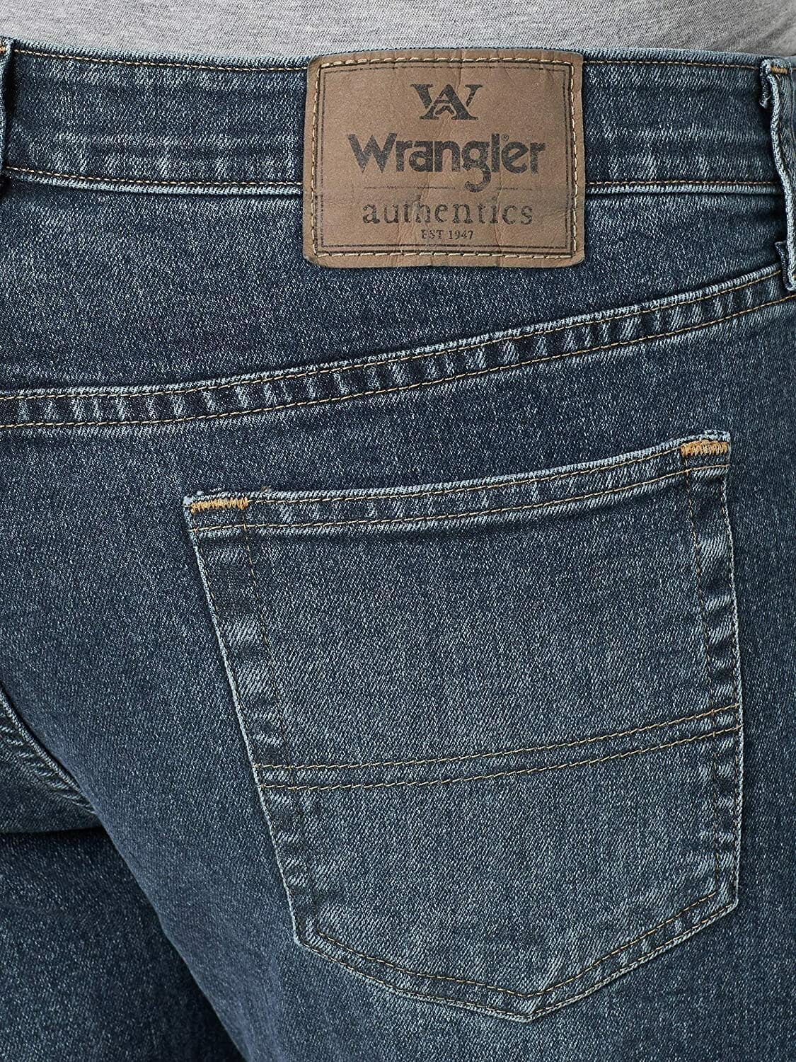 Wrangler Relaxed Fit Jean Smoke Hombre