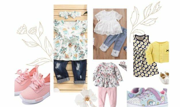 Casual Outfit Primavera Niñas