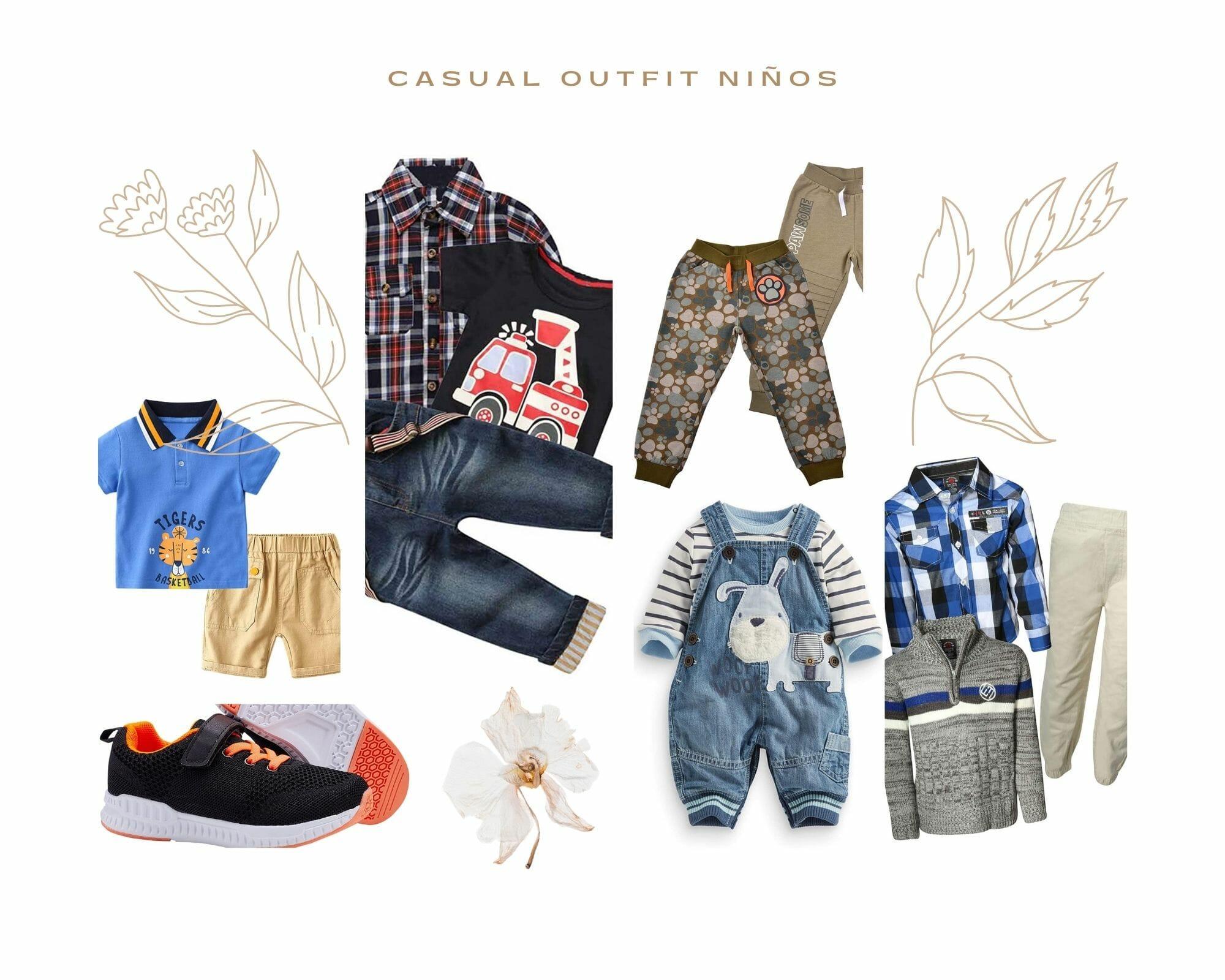 Casual Primavera Outfit Niños