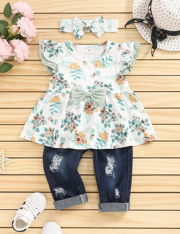 Bilison Vestido Floral Niñas
