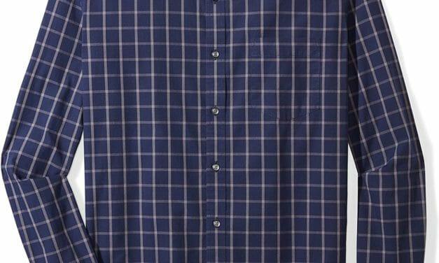 Amazon Essentials Camisa Manga larga Hombre