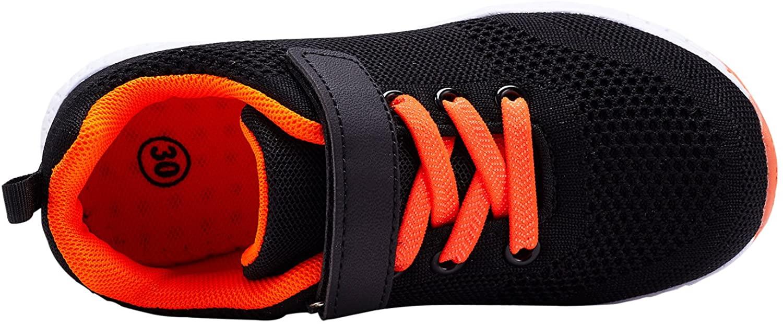 Casbeam Zapatillas Negro Naranja Niños
