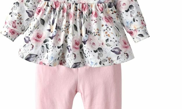 Conjunto Floral Pink 3 Piezas Niñas