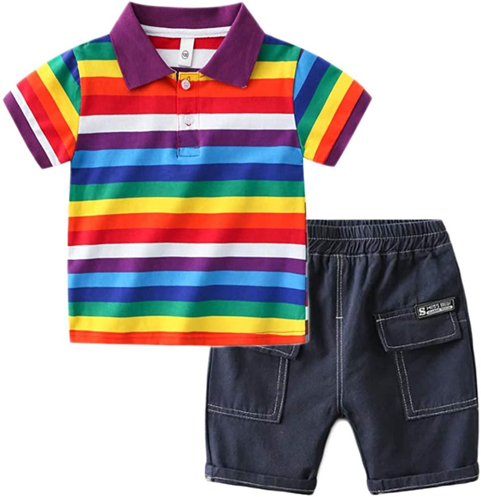 Conjunto Estilo Arcoíris Niños