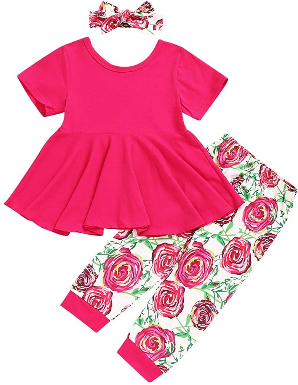 Bilison Vestido Rojo Niñas