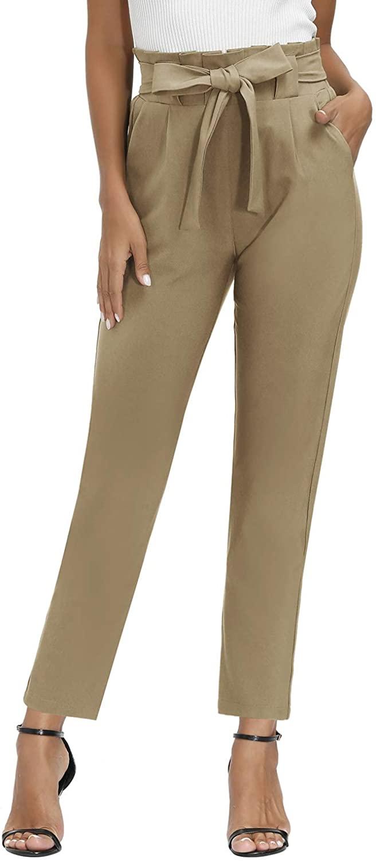 Yidarton Pantalón Corto Camel Mujer