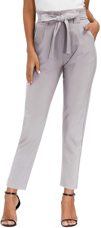 Yidarton Pantalón Corto Gris Mujer