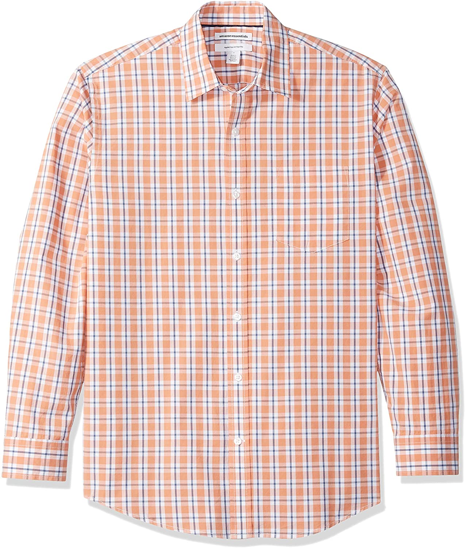 Amazon Camisa Manga Larga Coral Hombre