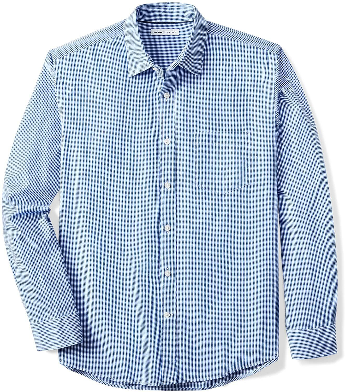 Amazon Camisa Manga Larga Blue Hombre