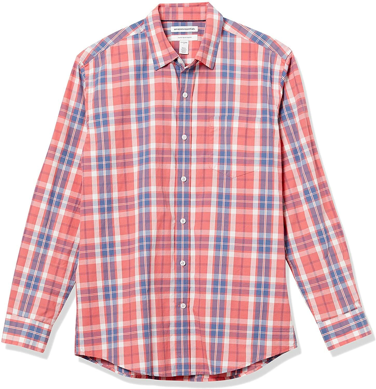 Amazon Camisa Manga Larga Washed Red Hombre