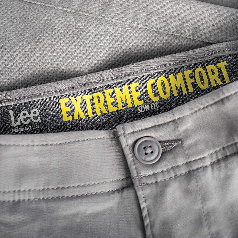 Lee Pantalón Taupe Hombre